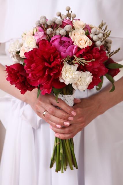 Il bouquet: amore e fiori